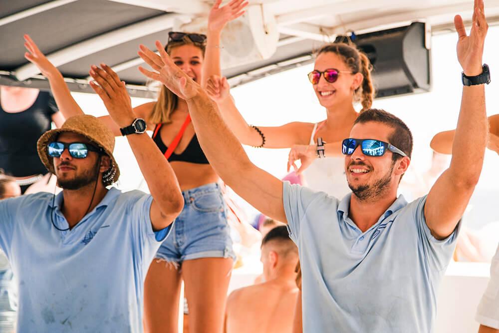 Fiesta en Catamarán Lloret de Mar
