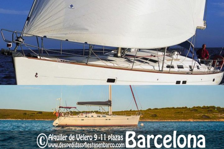 Alquiler de Barcos Veleros para fiestas privadas en Barcelona